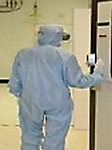 Entering Cleanroom
